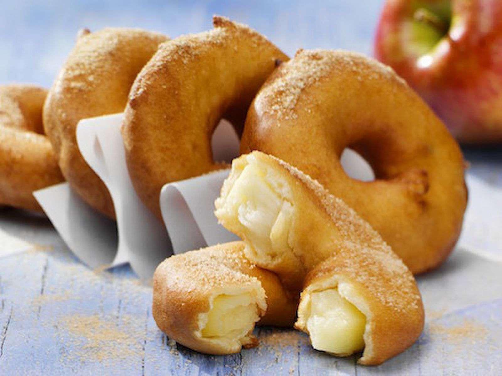Recette beignets aux pommes - La ferme aux beignets ...
